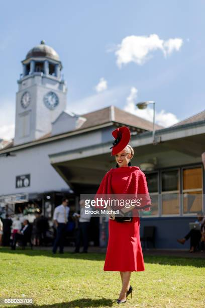 Fashions on the field during The Championships Day 2 Queen Elizabeth Stakes Day at Royal Randwick Racecourse on April 8 2017 in Sydney Australia
