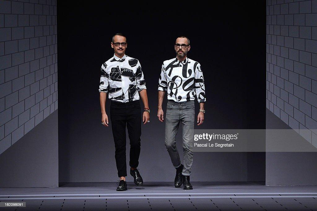Viktor & Rolf : Runway - Paris Fashion Week Womenswear  Spring/Summer 2014
