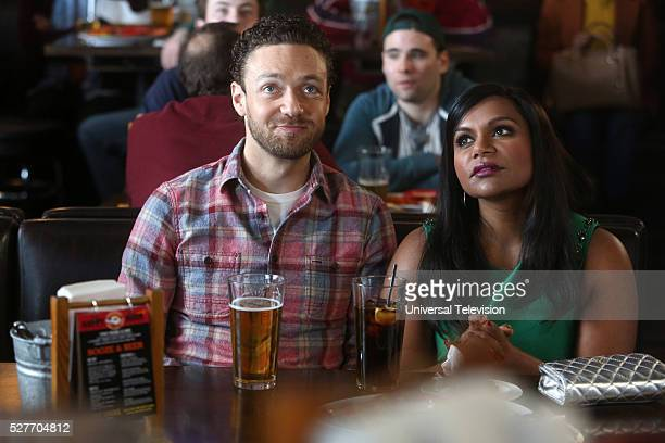 PROJECT '2 Fast 2 Serious' Episode 417 Pictured Ross Marquand as Bryant Green Mindy Kaling as Mindy Lahiri