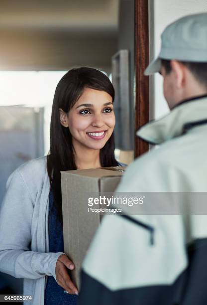 Fast and friendly service gets her smiling