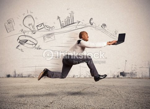 Fast business : Stock Photo