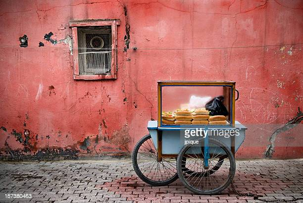 Fast food Istanbul s street