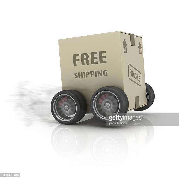 fast free shipping package