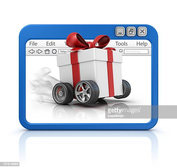 fast gift in browser
