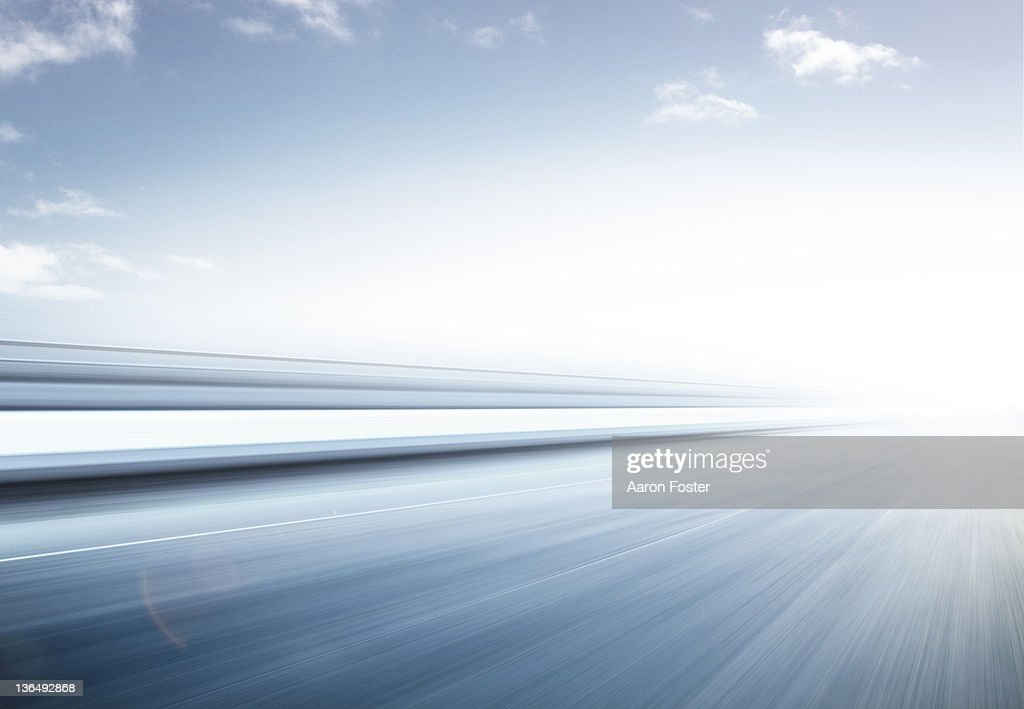 Fast Graphic Road : Stock Photo