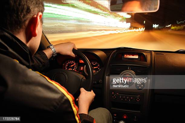 Fast night drive