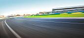 Fast Race Track corner