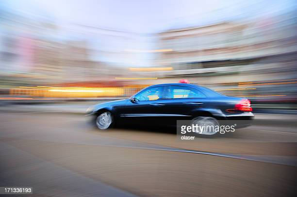 Fast taxi in Amsterdam
