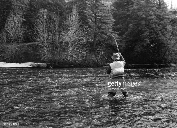 Fast Water Fast Action For Fly Fisherman On The Colorado This angler is fast to a running rainbow trout that hit in stretch of stateowned public...