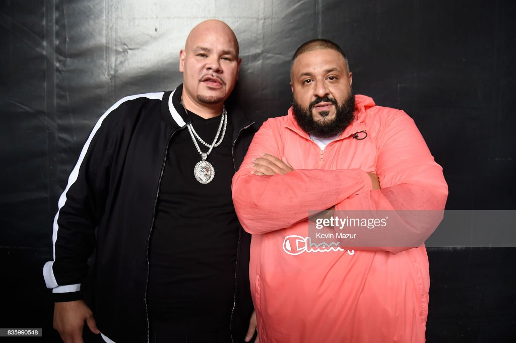 Fat Joe and DJ Khaled attend Day Two of 2017 Billboard Hot 100 Festival at Northwell Health at Jones Beach Theater on August 20, 2017 in Wantagh City.
