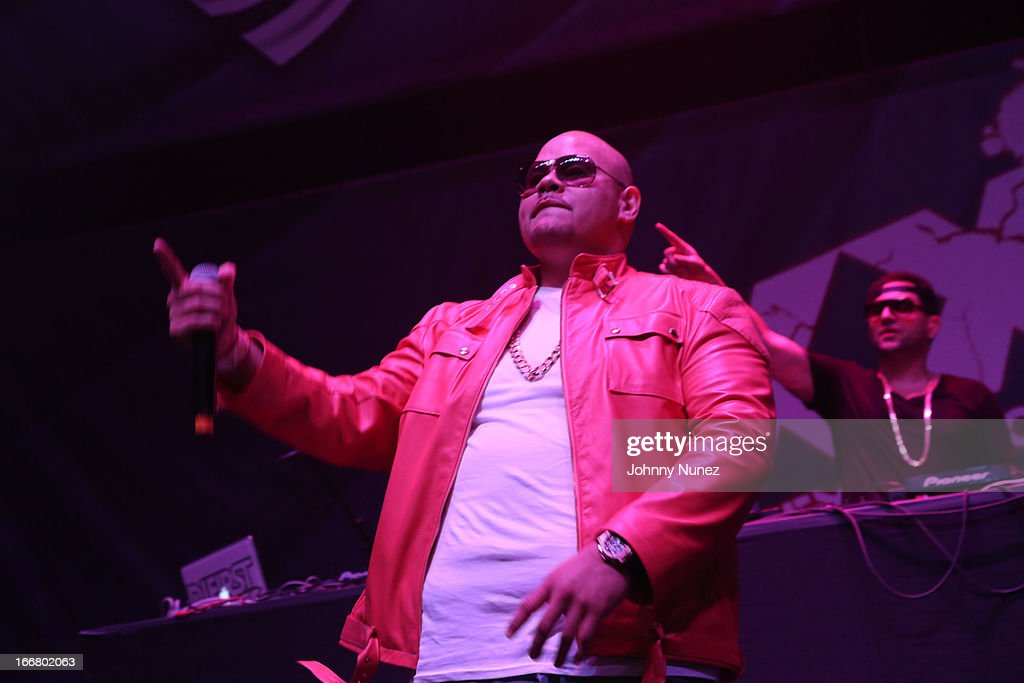 Fat Joe performs at the 2nd Annual DJ Prostyle's Birthday Bash at Hammerstein Ballroom on April 16, 2013 in New York City.