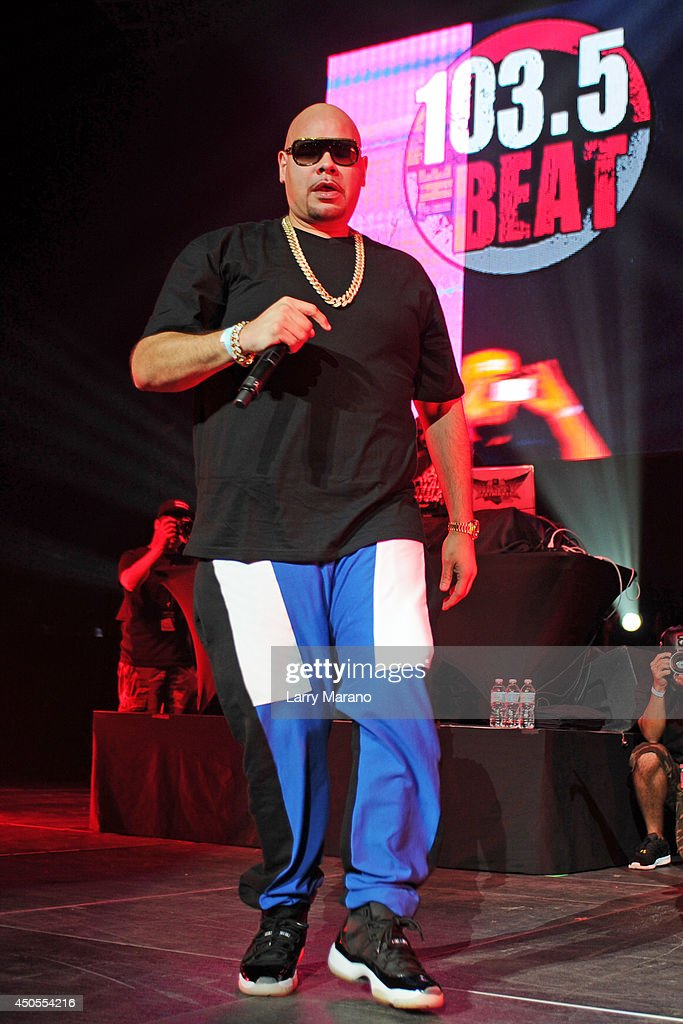 Fat Joe performs during the 103.5 The Beat Down concert at BB&T Center on June 12, 2014 in Sunrise, Florida.