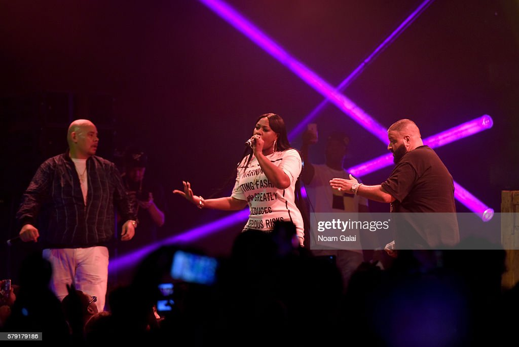 Fat Joe Remy Ma and DJ Khaled perform onstage at the 2016 Panorama NYC Festival Day 1 at Randall's Island on July 22 2016 in New York City