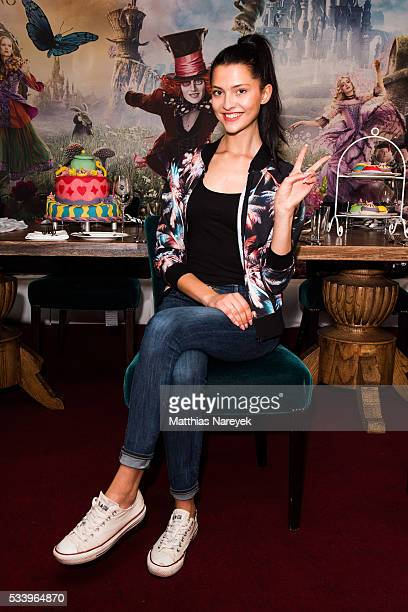 Fata Hasanovic attends the 'Alice im Wunderland Hinter den Spiegeln' Berlin screening and presentation of the Kaviar Gauche Capsule Collection at...