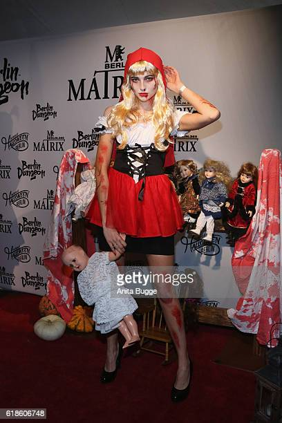 Fata Hasanovic attends the Halloween party by Natascha Ochsenknecht at Berlin Dungeon on October 27 2016 in Berlin Germany