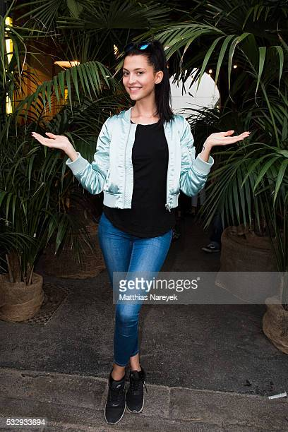 Fata Hasanovic during the 'Into the Wild' ASOS Magazin Launch Party on May 19 2016 in Berlin Germany