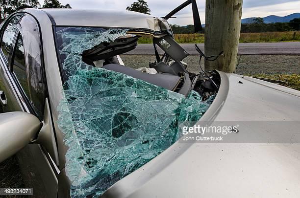 Fatal car crash aftermath