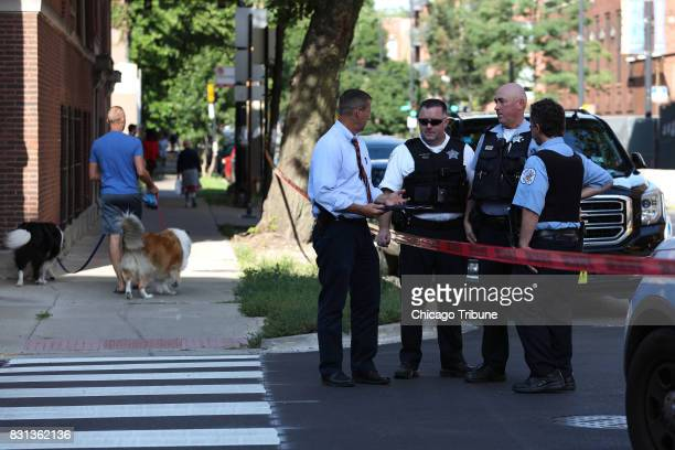 A fatal shooting occurred in front of the Wilson Yard Senior Living building at 1032 W Montrose Avenue in Chicago Sunday Aug 13 2017 and police...