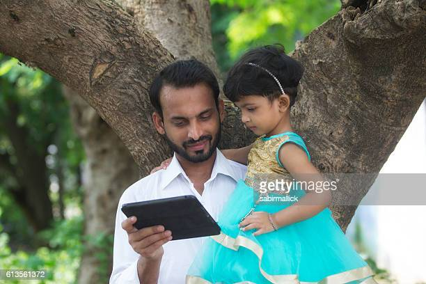Father and Daughter - India