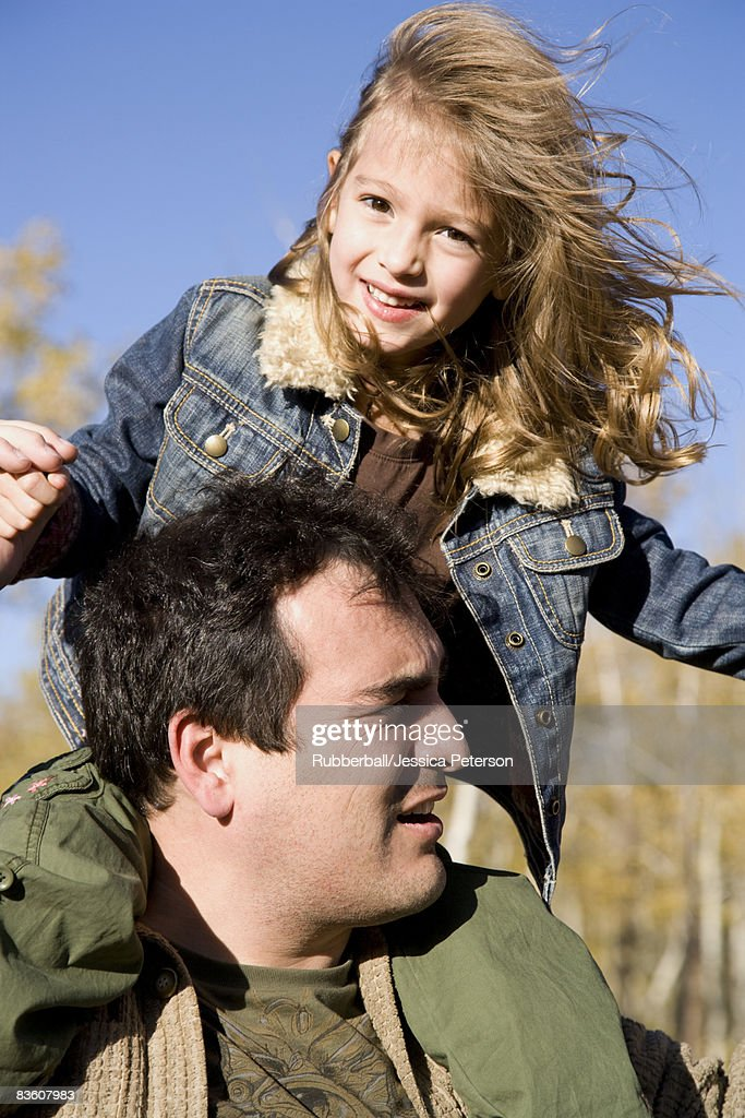 father and daughter. : Stock Photo