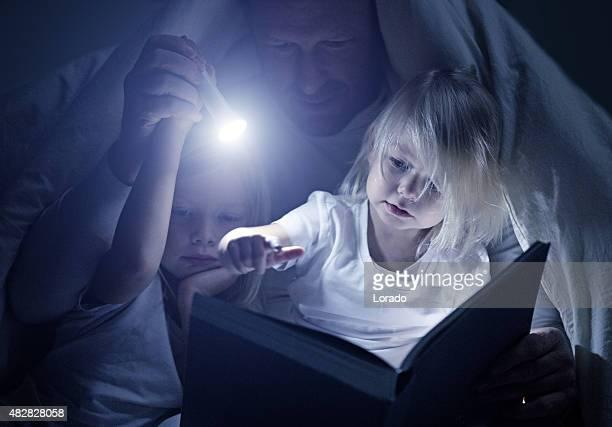父と娘で読書をお休み