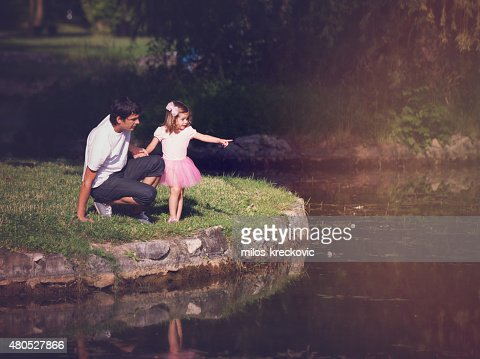 Père et sa fille : Photo