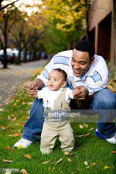 father and infant son