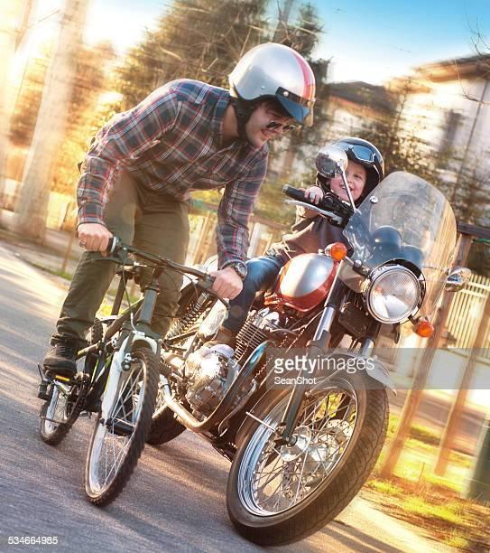 Pai e filho e Stange de