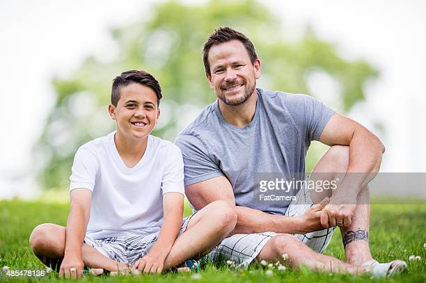 Father and Son at the Park