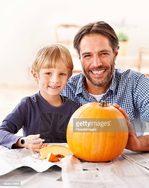 Padre e figlio fissaggio