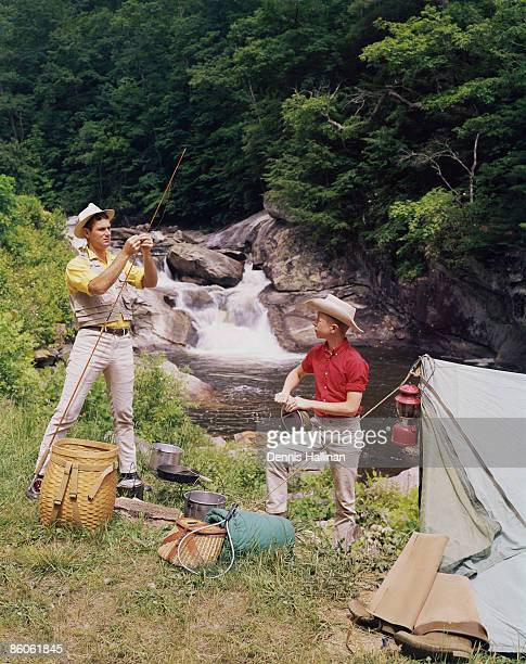 1960s teenager stock photos and pictures getty images for Camping and fishing near me