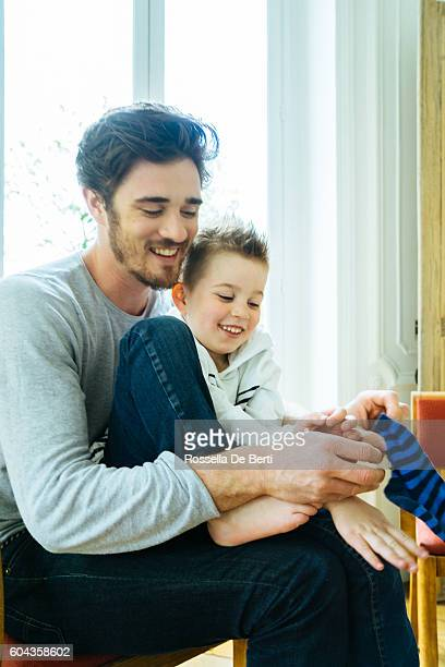 Family Socks Stock Photos and Pictures   Getty Images