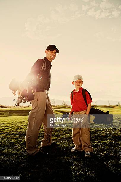 Father and Son Golf Pair