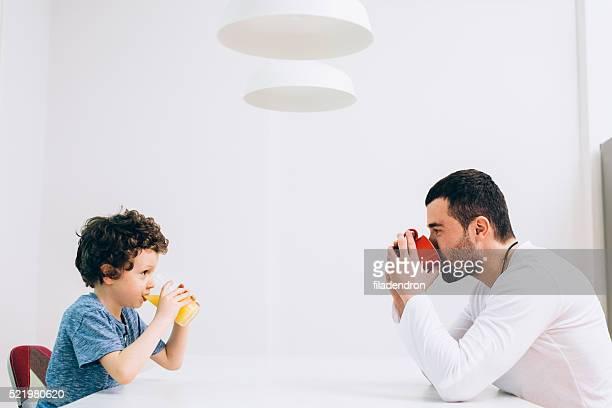 Padre e figlio tempo