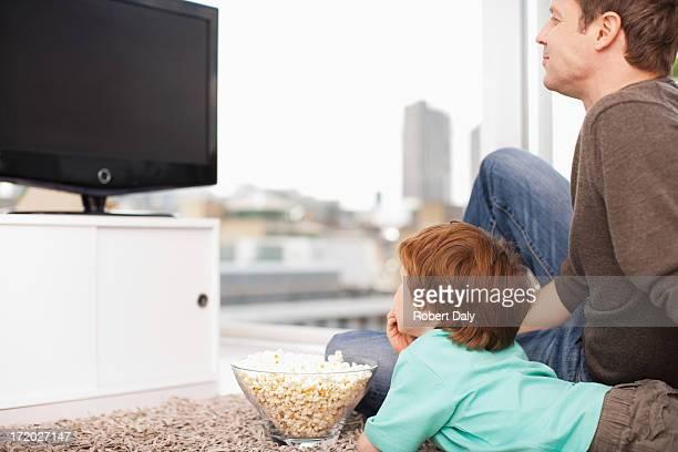 父と息子の TV