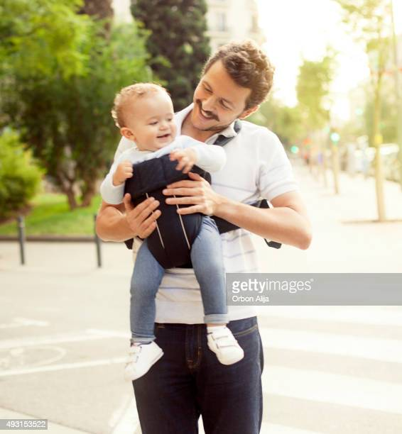 Father and toddler