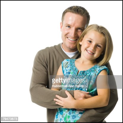 Father and young daughter : Stock Photo