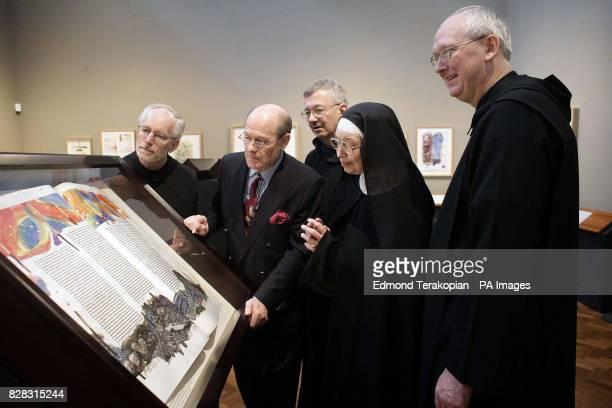 Father Columba Stewart Donald Jackson Brother Dietrich Reinhart Sister Wendy Beckett and Abbot John Klassen Art commentator Sister Wendy Beckett...