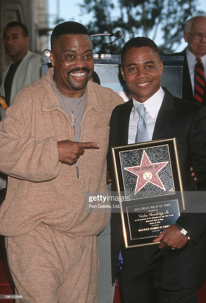 Cuba Gooding Jr. Honored with a Star on the Hollywood Walk ...