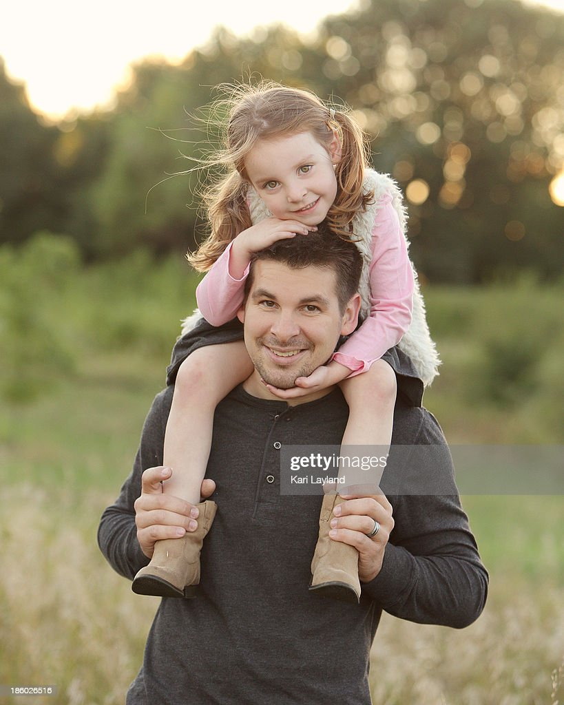 Father Daughter Love : Stock Photo