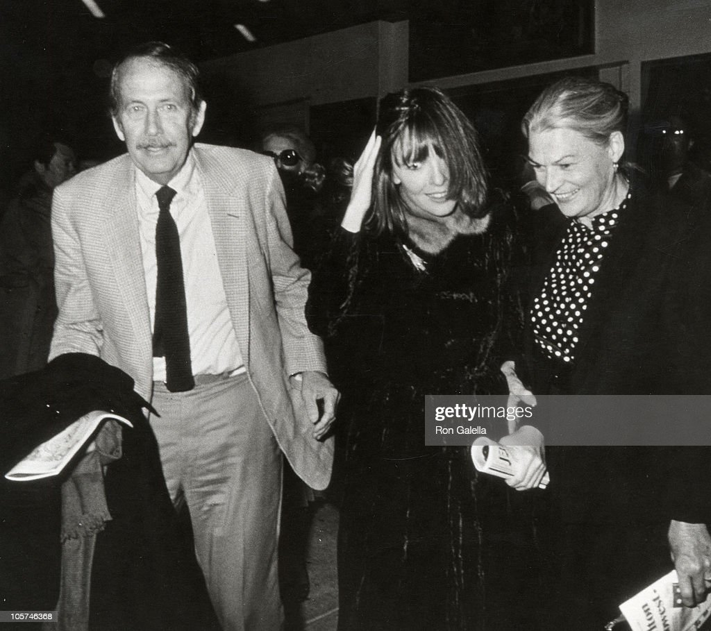father diane keaton and mother during 42nd street broadway november picture id105746368
