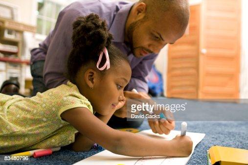 父と娘の描出