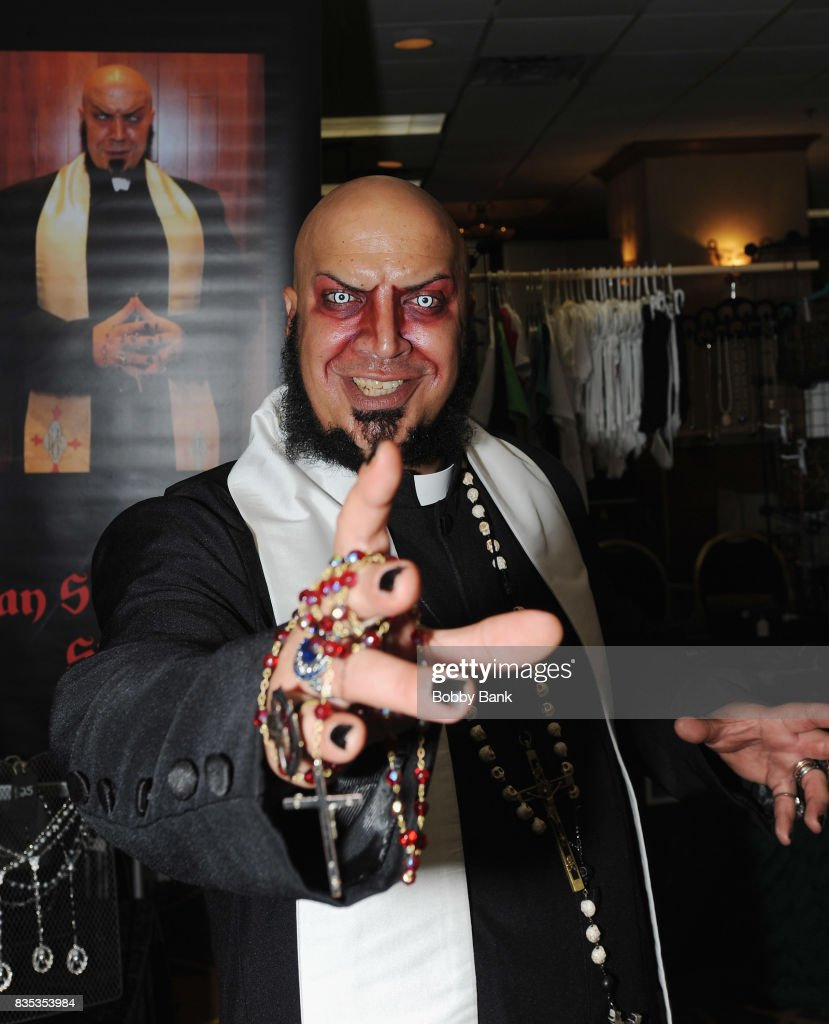 Father Evil attends the Monster Mania Con 2017 at NJ Crowne Plaza Hotel on August 18, 2017 in Cherry Hill, New Jersey.