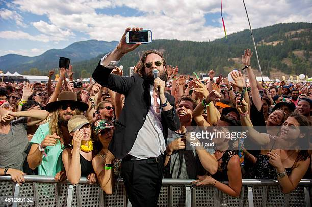 Father John Misty performs at the Pemberton Music Festival on July 18 2015 in Pemberton Canada