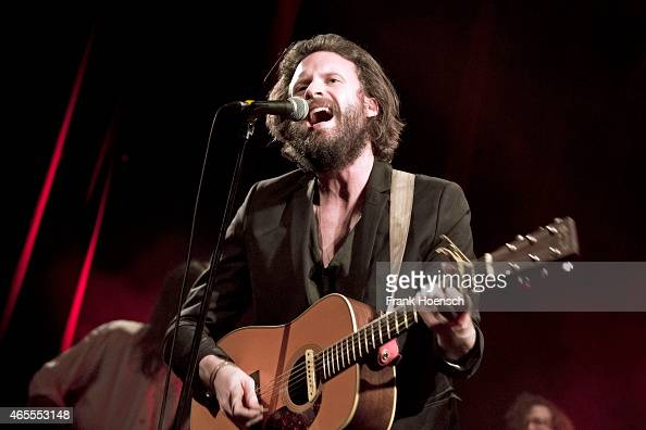 Father John Misty performs live during a concert at the Heimathafen Neukoelln on March 7 2015 in Berlin Germany