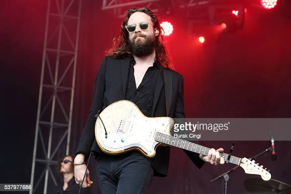 Father John Misty performs live on day 1 of Governors Ball festival at Randall's Island on June 3 2016 in New York City