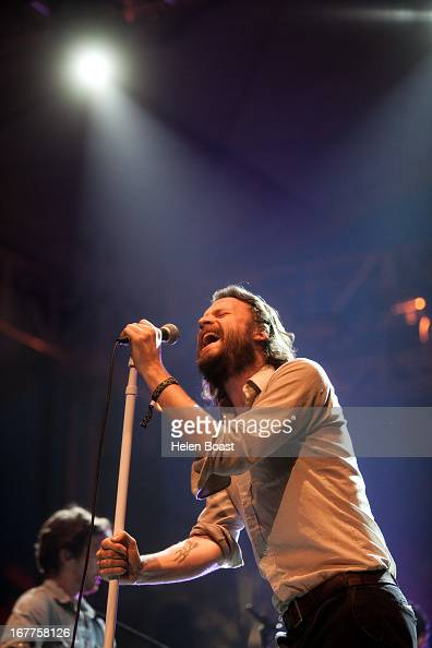 Father John Misty performs on stage at 2013 Coachella Music Festival on April 21 2013 in Indio California
