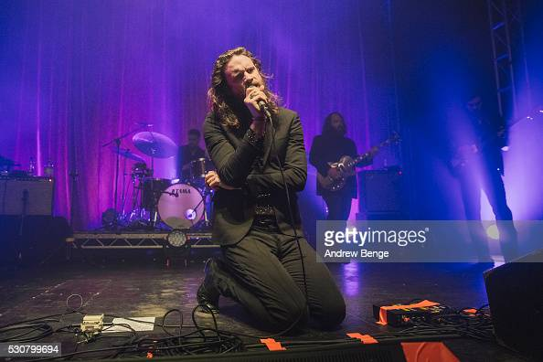 Father John Misty performs on stage at O2 Academy Leeds on May 11 2016 in Leeds England