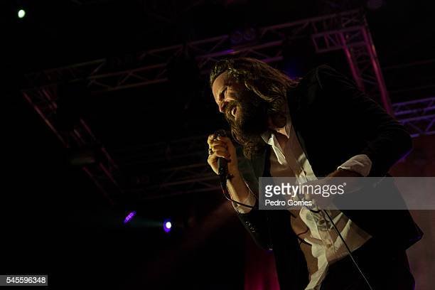 Father John Misty performs on the Heineken stage at NOS Alive on July 8 2016 in Lisboa CDP Portugal