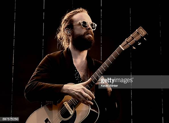 Father John Misty performs onstage during FYF Fest 2016 at Los Angeles Sports Arena on August 28 2016 in Los Angeles California
